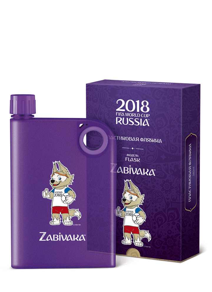 Фляжка FLASK ZABIVAKA (380ml)