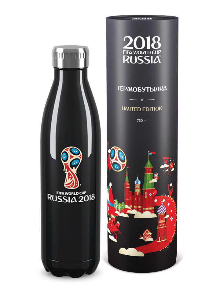 Термобутылка BOTTLE BLACK EDITION (750ml)
